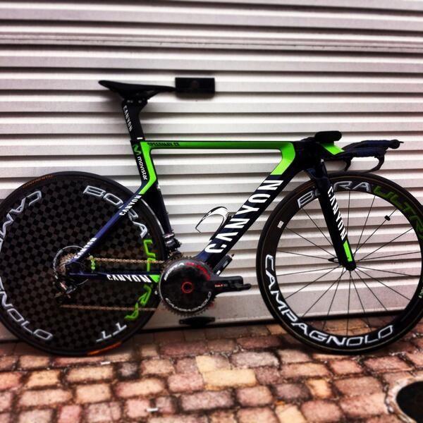 TT bike.