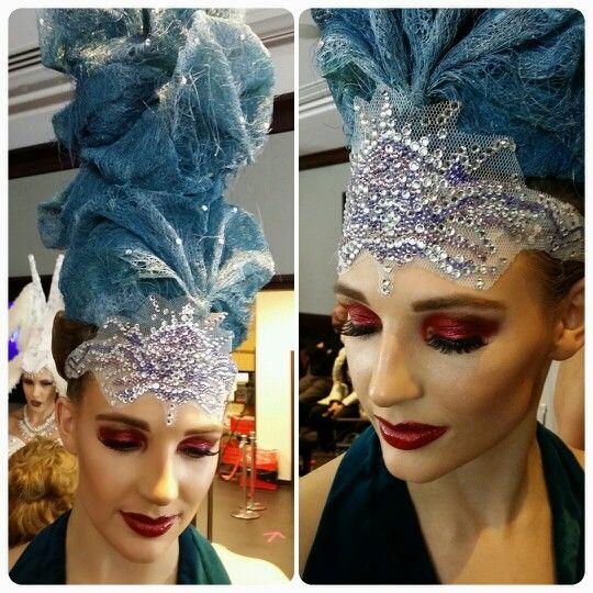 Hair Expo 2014. Makeup by Graduate Samanali