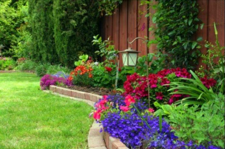 Full Sun Perennial Garden Ideas Photograph Garden Along Th