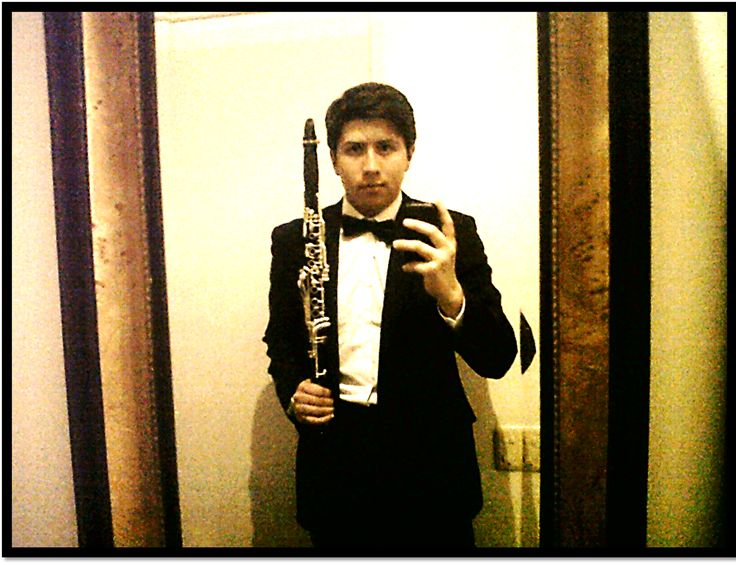 #Backstage Before solo concert