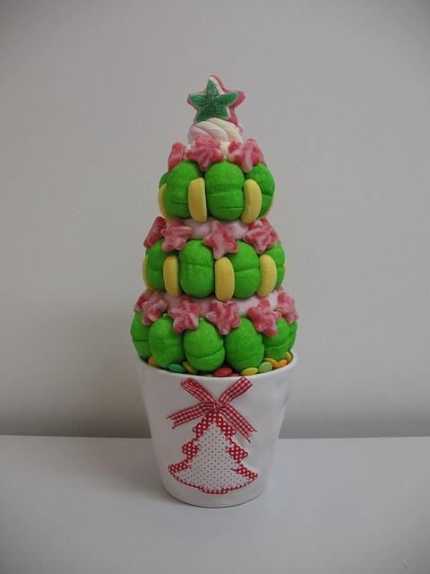 albero di caramelle #candy #caramelle #natale http://www.lemilleeunamella.it/