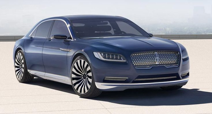 Lincoln Continental Concept Previews All-New Full-Size Sedan Coming in 2016 #Lincoln_Continental