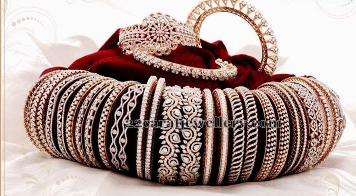 Jewellery Designs: Diamond Bangles Mela