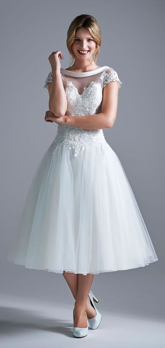 Attractive Short Wedding Dresses Chicago Motif - Wedding Dress Ideas ...