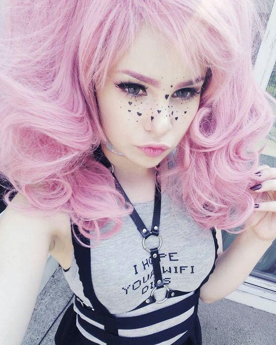 Pink hair | ★ Japan & Kawaii Style ★ | Pinterest