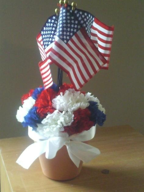 Memorial Day Centerpiece Craft Ideas Pinterest Memorial Day And Centerpieces