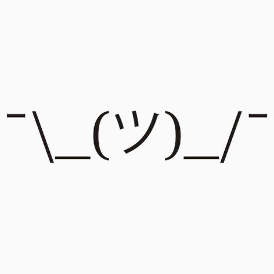Image result for shrug emoji