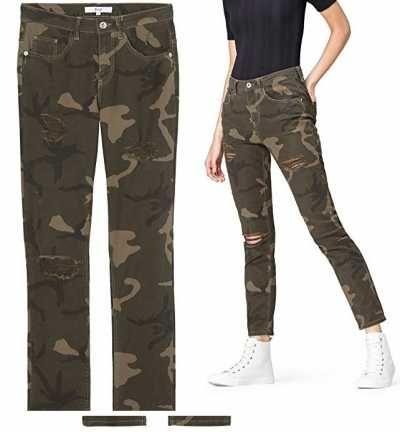 Find pantalón camuflaje para mujer Ofertas especiales y promociones  Caracteristicas Del Producto: Tiro medio Estampado de camuflaje 100% Algodón C
