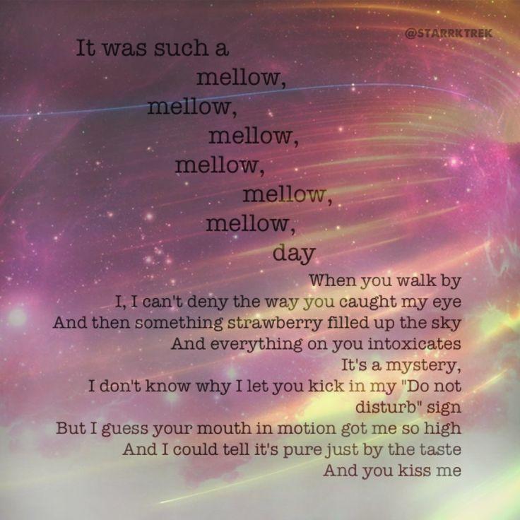 Justin timberlake strawberry bubblegum lyrics. Edit by Pinterest user starrktrek.