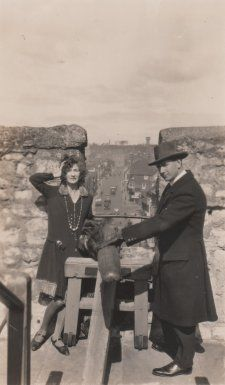 Christian and Napier Waller in Ireland, c. 1929 unknown photographer