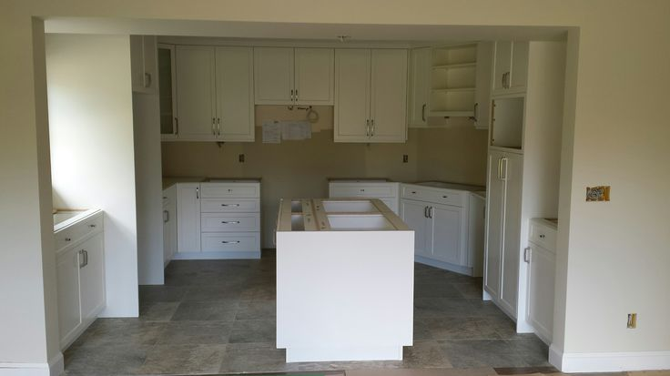 Kitchen completed in Fort Langley Just waiting for Counter tops
