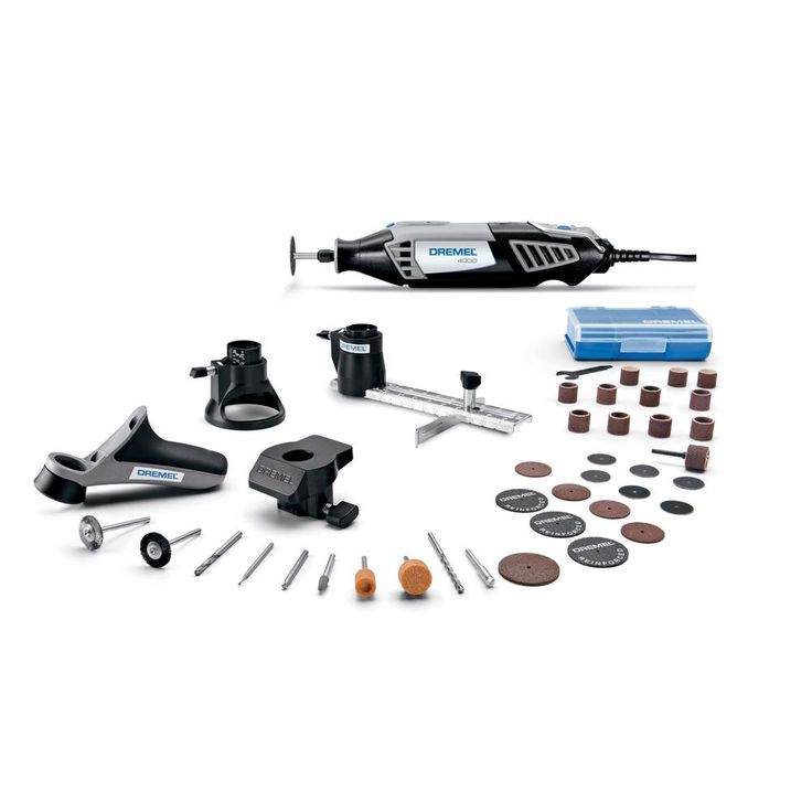 Dremel 4000 Series 1.6 Amp Corded Variable Speed Rotary Tool Kit with 36 Accessories and A Case