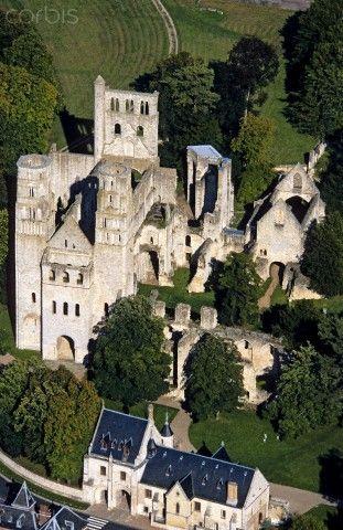 Abbaye bénédictine de Jumièges (654) , Normandie