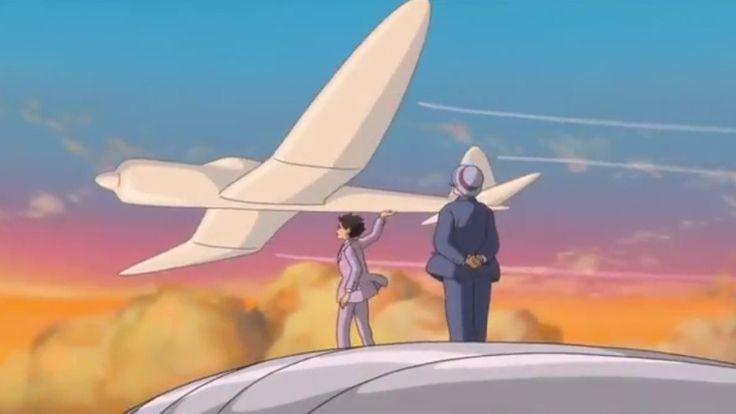 Si Alza il Vento, Hayao Miyazaki, Studio Ghibli. (dal 13 settembre 2014 al cinema)