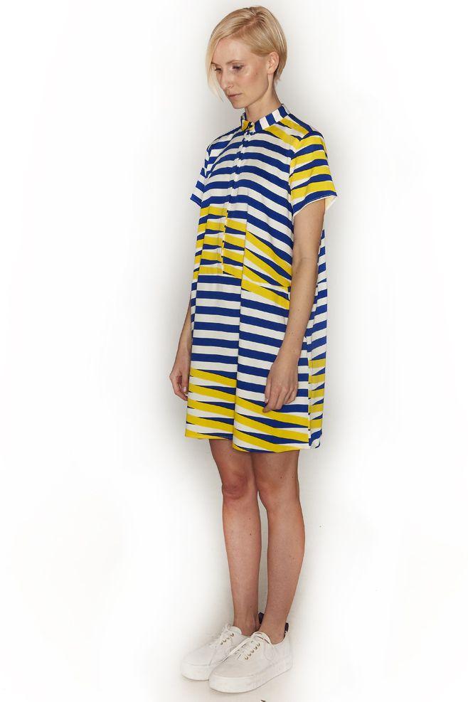 DUSEN DUSEN, Oversized Tee Dress |