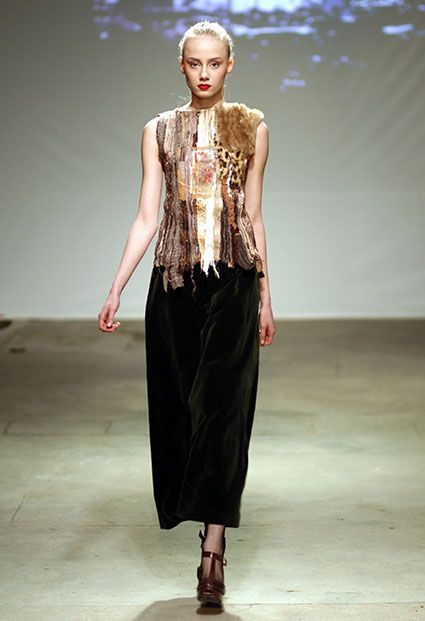 PAULINA PLIZGA OFF OUT OF SCHEDULE COLLECTIONS FALL/WINTER 2012/2013