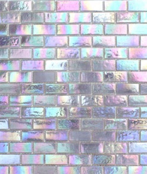 iridescent wall