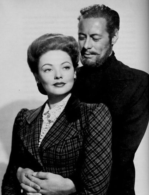 """""""The Ghost and Mrs. Muir"""" (1947) - Gene Tierney & Rex Harrison"""