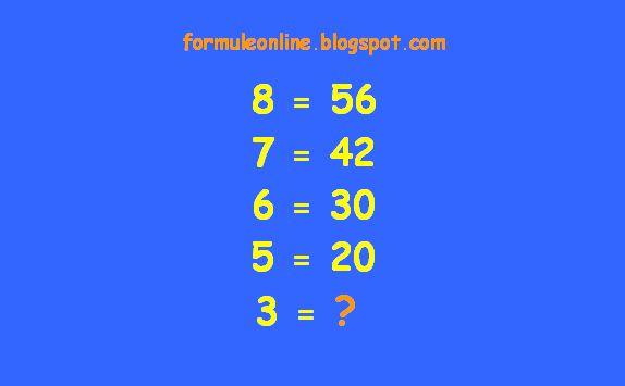 formuleonline probleme si exercitii rezolvate: Ghicitoare matematica 122