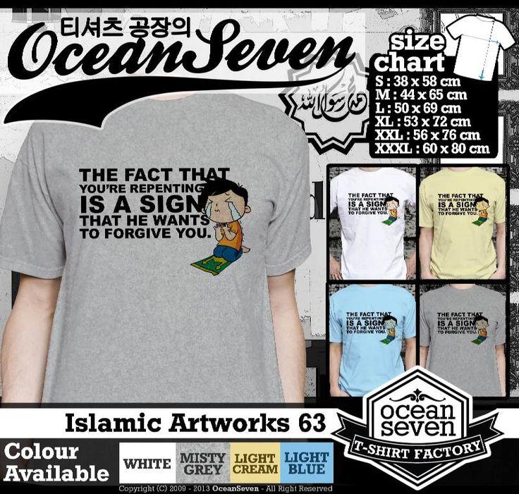 Kaos Distro kartun Islam | Islamic Artworks 5
