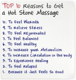 Image result for healing benefits of hot stone massage