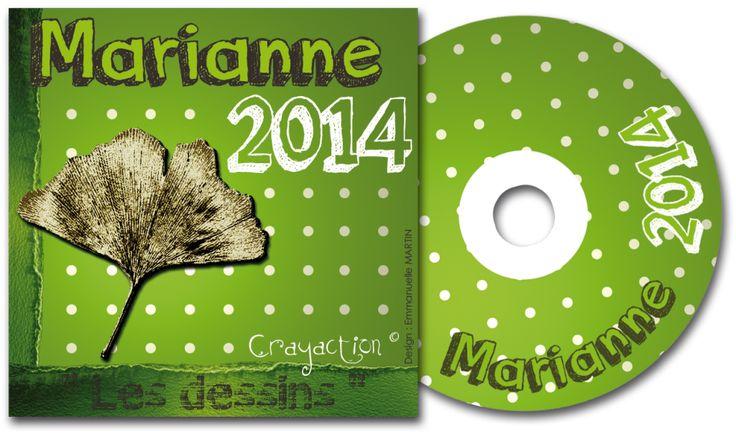DVD MARIANNE 2014 - Les dessins