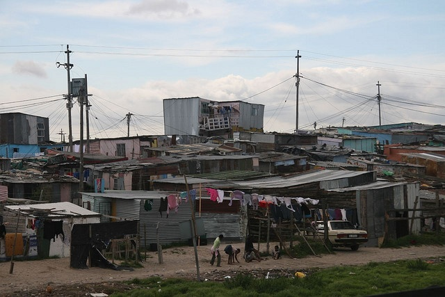 Khayelitsha, the largest township in Cape Town where I teach the sweetest 6th graders around! :)