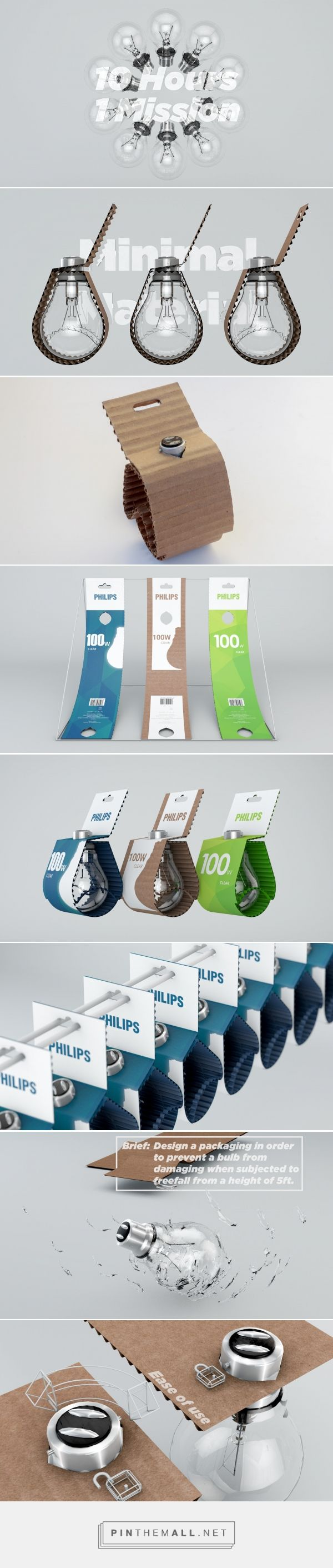 Lightbulb Drop Proof packaging concept by Shaunak Patel - http://www.packagingoftheworld.com/2017/03/lightbulb-drop-proof-packaging-student.html