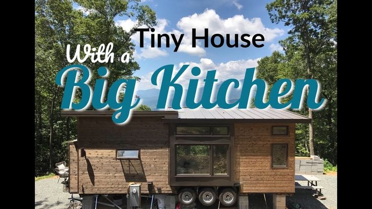 Tiny House--cool 300 sq. foot house with full kitchen--even a small dishwasher. Video format is irritatingly small, but still...:>)