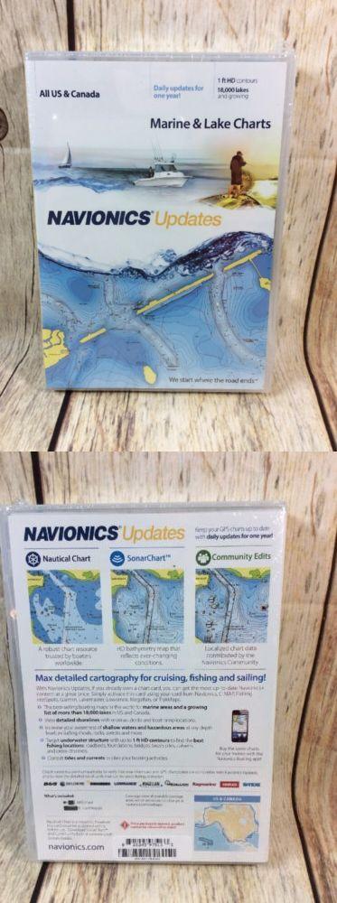 GPS Software And Maps New Nip Navionics All Us Canada Marine Lake - Lake mapping software