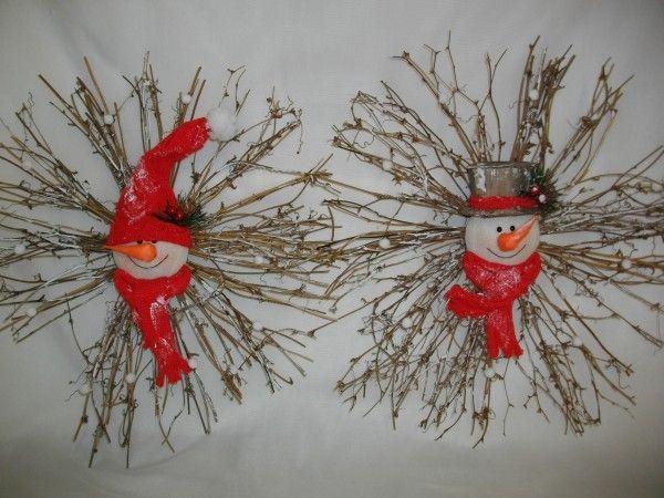 LolaViola - Wreath:  Snowman and Twig , $22.00 (http://lolaviola.co/wreath-snowman-and-twig/)