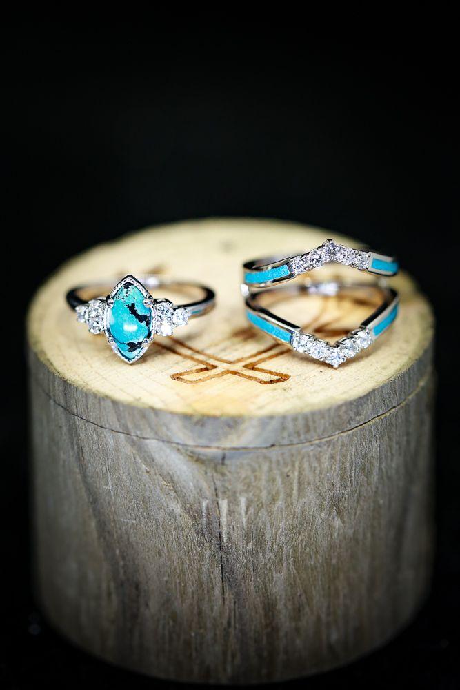 Pin On Handcrafted Custom Wedding Rings Wood Antler Copper Etc