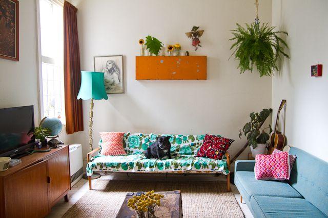 Bohemian home of a Melbourne florist