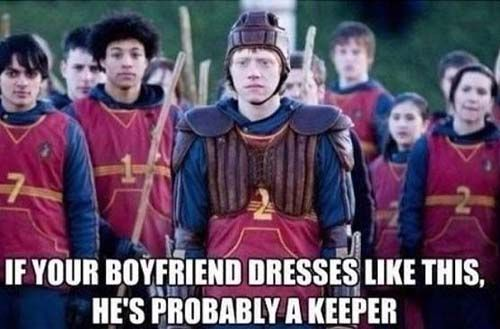 funny harry potter pun keeper