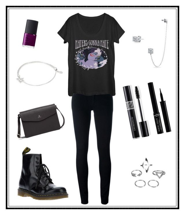 """#159"" by e-elmedal on Polyvore featuring Levi's, Dr. Martens, Bling Jewelry, NARS Cosmetics, Christian Dior, Giorgio Armani and Alex and Ani"