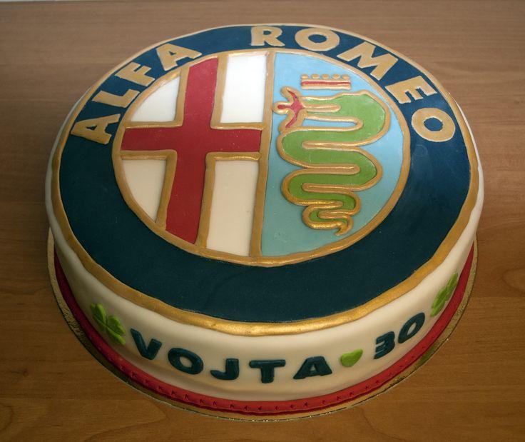 Dort Alfa Romeo. Alfa Romeo Cake.