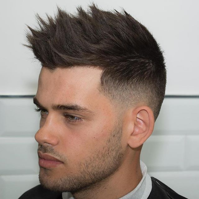 The 10 Best Hairstyles For Men That Will Never Go Out Of Style: 26 Best Images About Men Hairstyle 2016: Short Spike