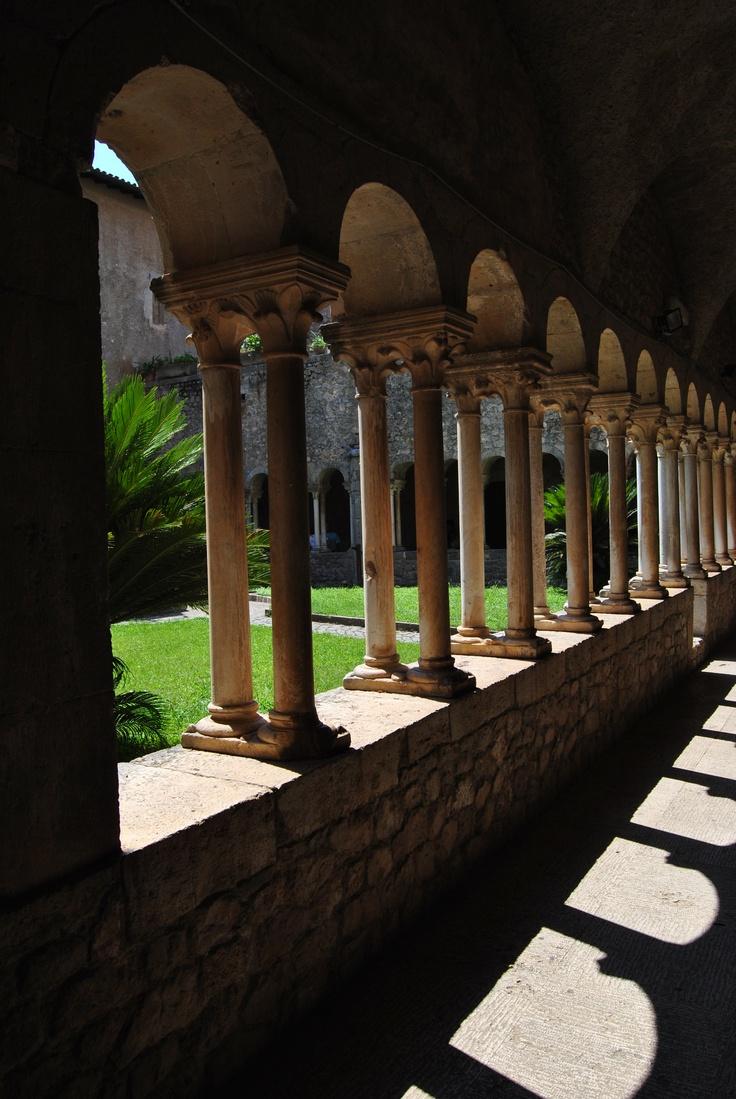 Abbazia di Val Visciolo, Colonnato del Chiostro