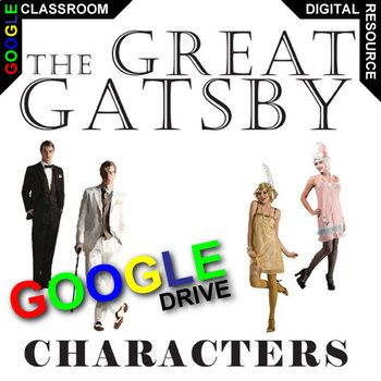 the analysis of the main characters from the novel the great gatsby by fs fitzgerald Daisy buchanan - character analysis in suite 101  american author f scott  fitzgerald's novel the great gatsby evokes  the author presents a documented  analysis of the major ethics themes in the book including,.