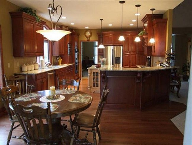 Best Paint Colors For Kitchen With Cherry Cabinets Best