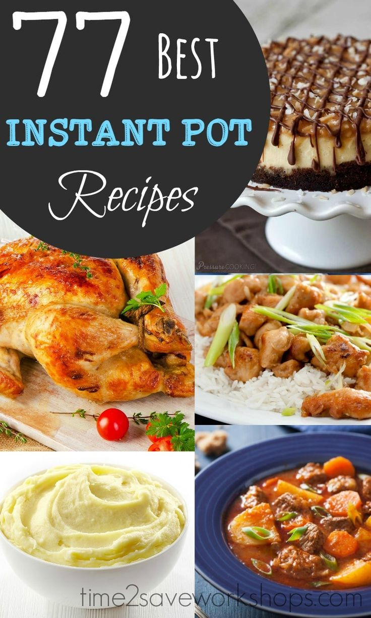 "TweetEmail TweetEmail Share the post ""BEST Instant Pot Recipes to Try!"" FacebookPinterestTwitterEmail The Instant Pot craze is really taking off – several of my friends have one and for some of them it has CHANGED their life. (Their words – not mine!) If you are looking to take the ""time"" out of dinnertime prep –continue reading..."