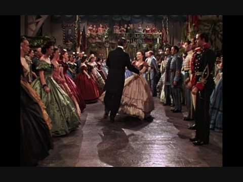 Gone With the Wind  One of the best scenes where Scarlett ignores what others think and just does what feels right for her, dancing, encouraged by Rhett Butler.