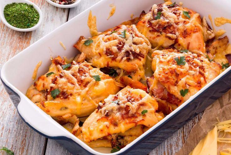 Piept de pui umplut- cină rapidă, aspectuoasă, gustoasă, ușor de încropit, perfectă pentru zilele pline în care parcă vrei să se facă singură mâncarea.