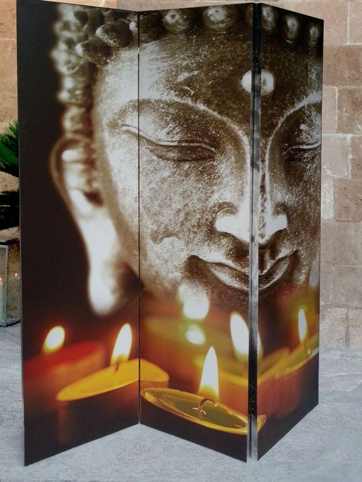 Die besten 25+ Buddha Wohnzimmer Ideen auf Pinterest Schwarzes - trennwand im wohnzimmer