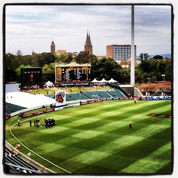 Adelaide Oval in North Adelaide, SA
