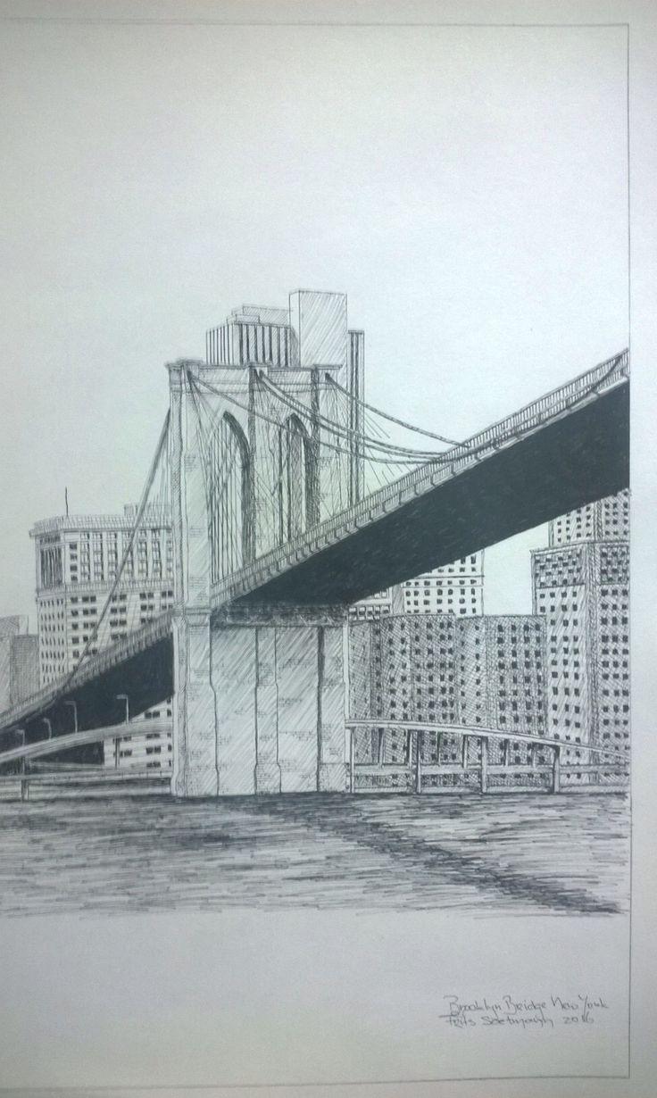 Brooklyn Bridge, New York, USA