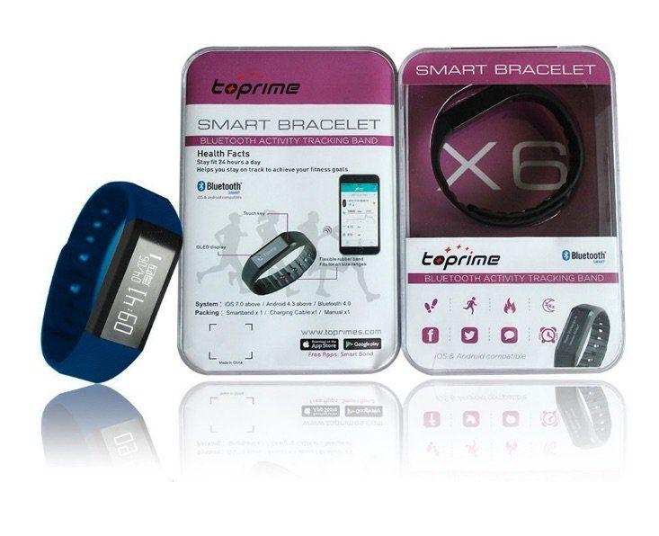 Toprime ZPDX6BEVH1 – Pulsera de actividad – Opinión y análisis de esta pulsera fitness con pantalla OLED