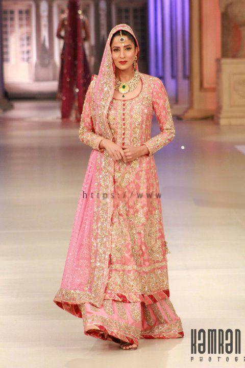Nomi Ansari Bridal Wear at Pantene Bridal Couture Week 2012 s