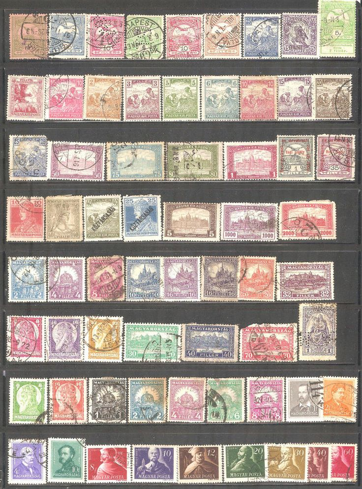 Hungary Collection Stamps / 215 Pcs