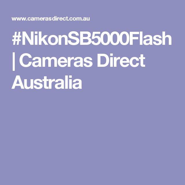 #NikonSB5000Flash | Cameras Direct Australia